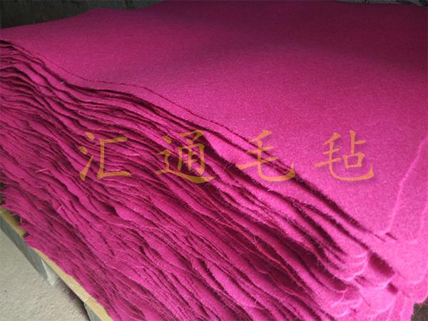 手工地毯毛毡