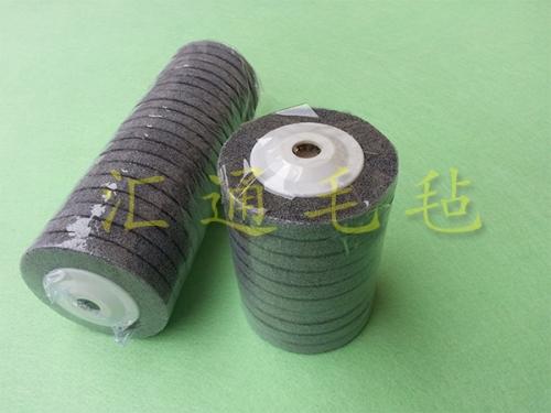 不织布纤维轮