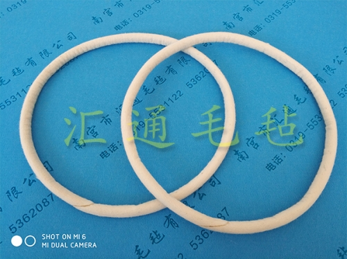 湖北羊毛毡绳