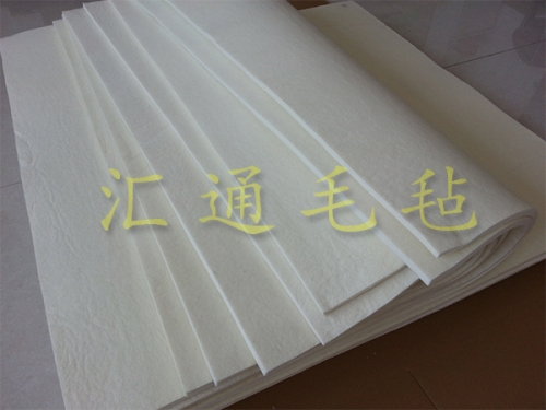 纯羊毛毡垫