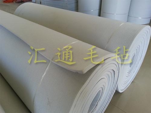 环保消音化纤毛毡